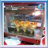 de hete Vertoning van de Pizza van de verkoopKegel Warmere pa-D1