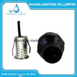 1PCS mini type lumière souterraine blanche d'IP67 1W DEL