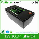 Bloco recarregável da bateria do íon do ferro do lítio LiFePO4 para a bateria solar