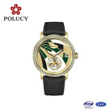Het kleurrijke Aanpassende Zwitserse Horloge van het Kwarts Dail