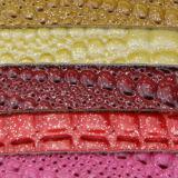 2017 Form-buntes geprägtes Handtaschen-Leder-dekoratives Leder (F8522)