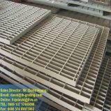 Barra galvanizada sumergida caliente que ralla para la cubierta y el suelo del dren