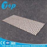 El panel de aluminio tallado perforado modificado para requisitos particulares para las pantallas