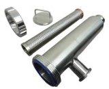 De hygiënische Filter van het Type van Hoek van Inox van de Verwerking van het Voedsel van het Roestvrij staal (nt-0093)