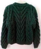 Mädchen-Dame-Frauen-Strickjacke-Strickwaren-Kleid-Wolljacke-Pullover mit der Hand stricken