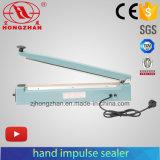 Alumínio de Hongzhan Ks100/200/300/400/500/ferro/aferidor plástico da pressão de mão da selagem do saco do Polythene do corpo
