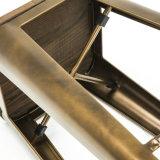 Semplicemente sgabello industriale del contatore della barra di Tolix del metallo di stile con la sede di legno (SP-MC037W)