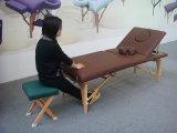 Деревянная портативная табуретка массажа