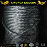 Corde à fil en acier inoxydable-AISI 304 7x7-1,2mm (recuit)