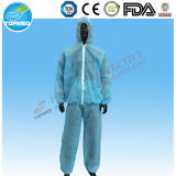 Revestimentos e calças descartáveis não tecidos para macacões de proteção Uniformes