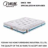 Anti-Acaroids tessuto con il materasso appiattito del lattice della molla naturale della casella per la mobilia Fb871 della camera da letto dell'hotel
