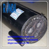 8.7KV 15KV XLPE isolou cabo elétrico blindado da fita de aço STA