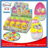 キャンデーが付いているイースタージャンプの鶏の卵の照明おもちゃ