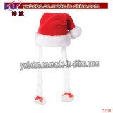 Presentes de Natal Presentes de Natal Chapéus de Decoração de Natal (C2127)
