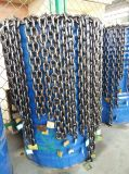 研修会は二種速度の7.5トンの電気ウィンチに用具を使う