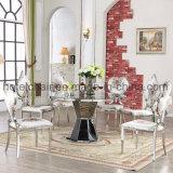새로운! 상류 현대 스테인리스 테이블. 그리고 Shome & 정원을%s 가진 의자
