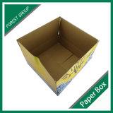 Коробка оптового картона мороженного конструкции упаковывая