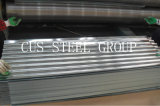 Folhas de aço galvanizadas do ferro/telhadura ondulada galvanizada do metal