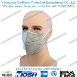 セリウムQk-FM015が付いている平らな折られたマスクの使い捨て可能な塵マスク