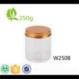 Glas des Haustier-250ml mit Aluminiumkappe