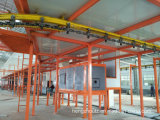 Riga di rivestimento automatica della polvere di vendita calda per le piccole parti