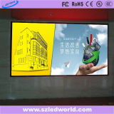 Painel de parede video interno do diodo emissor de luz da cor P4 cheia para anunciar (CE, RoHS, FCC, CCC)