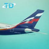 Aereo di modello del Airbus della resina russa di linee aeree A330-300