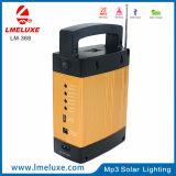 Hola luz solar portable de radio del MP3 /FM de la potencia