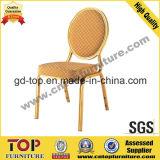 Runde Rückseiten-bequeme Aluminiumbankett-Stühle