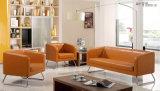 Pierna del acero de Wth del sofá de Combiniation de la oficina del cuero genuino