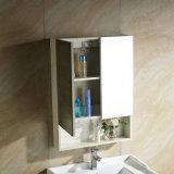 Hölzerne festes Holz-Badezimmer-Eitelkeit mit Spiegel-Schrank