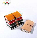 Signora femminile Multi-Function Zipper Clutch Wallet della borsa di colore della caramella di modo delle donne del cuoio genuino di marca come piccolo accessorio (BDX-171001)