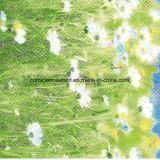 100%Polyester лебедь Pigment&Disperse напечатал ткань для комплекта постельных принадлежностей