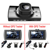 Volle HD verdoppeln Kameraobjektiv-Nachtsicht-Auto DVR