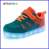 Opvlammende Lichte LEIDENE Ten laste van Tennisschoenen USB Schoenen