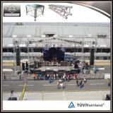 コンサートの段階の屋根のトラスイベントの段階装置のためのアルミニウム段階のトラス