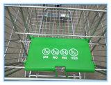 Verzinkte Supermarkt-Einkaufen-Laufkatzen