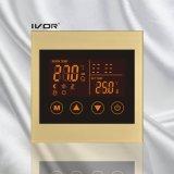Bâti acrylique de chauffage par le sol de thermostat de commutateur programmable de contact (SK-HV100L8-L/M-W)