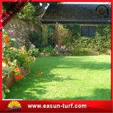 35mm Höhen-synthetischer Rasen-künstliches Gras für Hausgarten