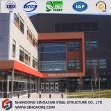 Edificio pre dirigido de la estructura de acero del panel de emparedado de la PU