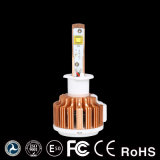 A luz a mais nova do diodo emissor de luz do carro de Turbo 30W V16 H1 com tempo impermeável e longo