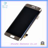 Mobiler intelligenter Handy LCD-Touch Screen zeigt Montage für Rand der Samsung-Galaxie-S6 plus an