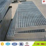 Gehwege Metal kratzende Fluss-Stahl-Aluminiumstab-Vergitterung