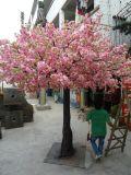 人工花の花の結婚祝いの一定の木