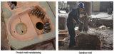 粉砕機の部品のため、鋼鉄担保付きのTic棒