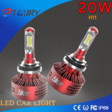 Farol do diodo emissor de luz da iluminação 4WD 20W H4 H7 H11 do carro do auto acessório