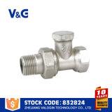 Winkel-Messingkühler-Ventil mit Griff (VG-K13041)