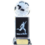 Sport-Kristallfußball-Preis-Trophäe für Andenken