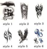 Tatuaje temporal impermeable de moda del arte de la etiqueta engomada del tatuaje