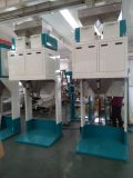 Figue remplissant pesant la machine à ensacher de bande de conveyeur